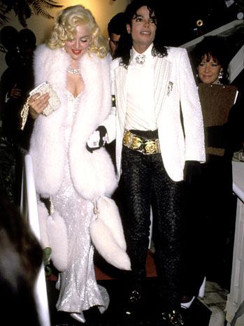 Madonna and Michael Jackson1991