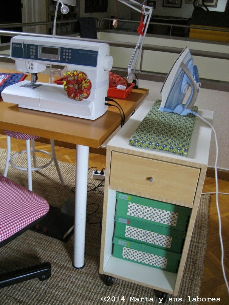 Marta y sus labores mi cuarto de costura - Mueble de costura ...