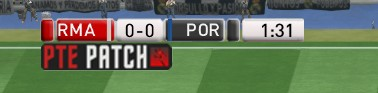 PES 2016 PTEPatch Scoreboard by PTEPatch