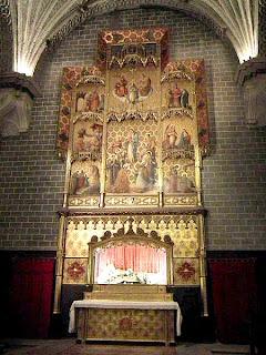 Capilla de la Asunción en la Catedral de Barbastro (Somontano, Huesca, Aragón, España)