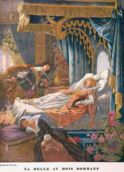 La belle au bois dormant Coloriages pour enfants - coloriage la belle au bois dormant
