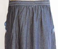 Skirt Jeans Murah RM326-5