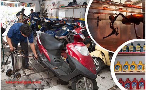 Nhớt xe máy- Những vấn đề nhớt xe máy bạn cần biết