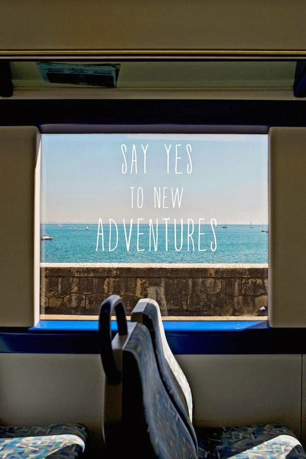 Travel Say Yes to New Adventures