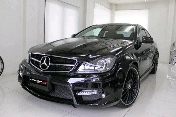 2013 mercedes benz c class coupe wide body kit by expression motorsport carduzz - Mercedes c class coupe body kit ...