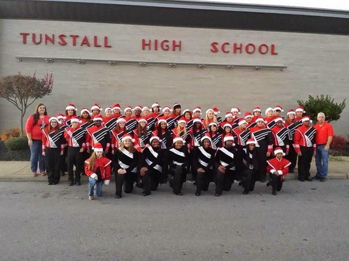 Trojan Vanguard Band Christmas Parade