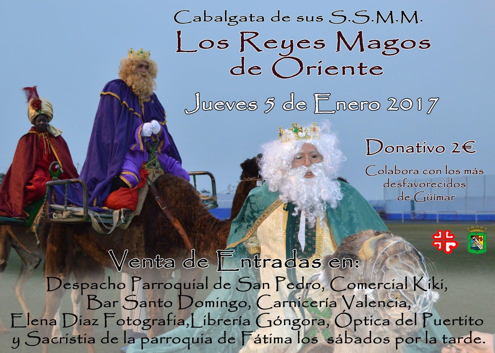 Venta de entradas para la llegada de los Reyes Magos al  Estadio Tasagaya José Ramos.