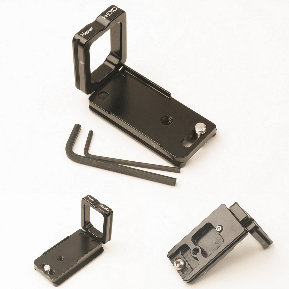 Hejnar PHOTO X100 Modular L Bracket top and bottom details