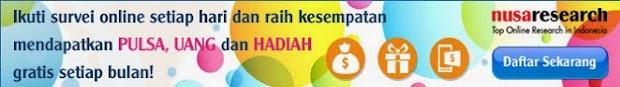 Survei Berhadiah Pulsa Dan Voucer Belanja