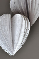 Tutorial: Heart Doily Poms