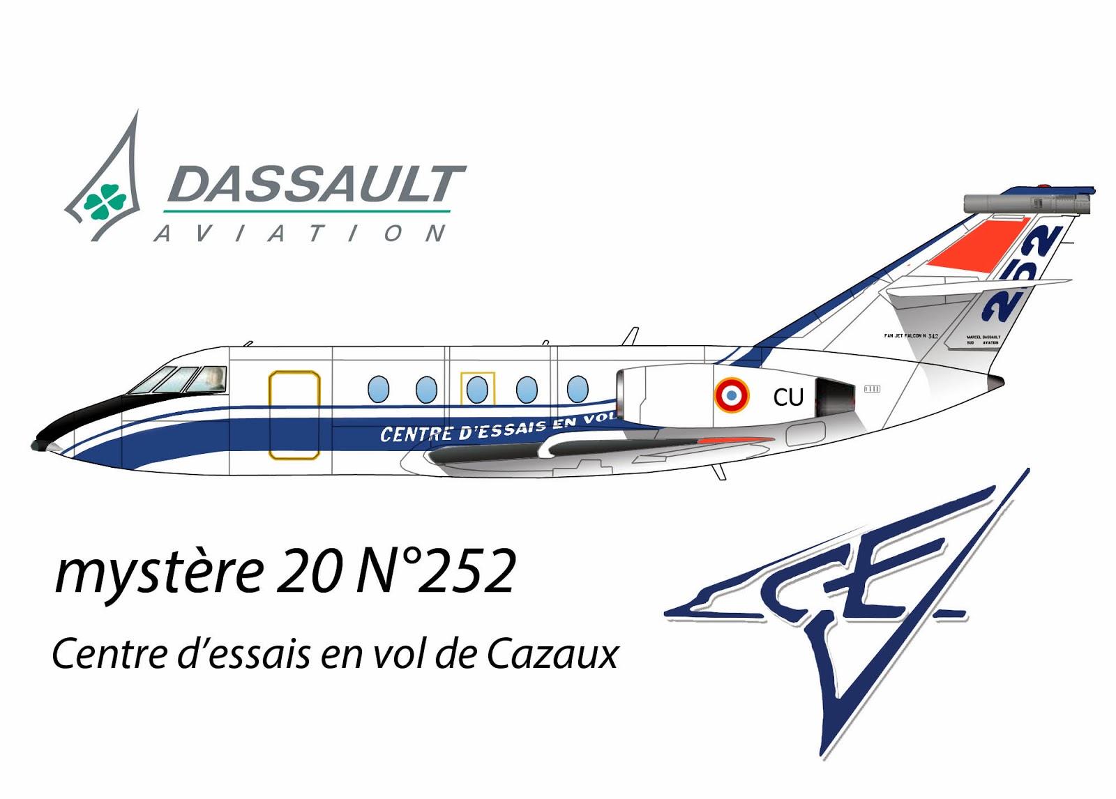 Dassault Mystère 20 N°252 /CU
