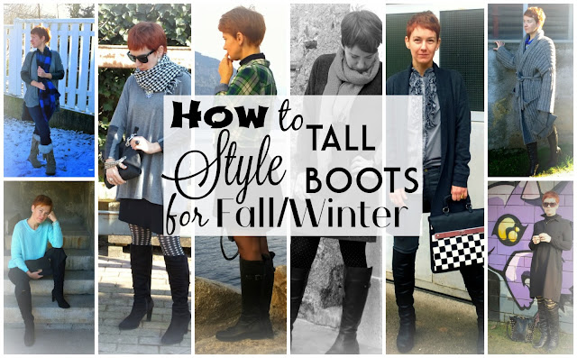 How to style tall boots for Fall & Winter - 9 Looks || Funky Jungle - Fashion and Personal Style Blog