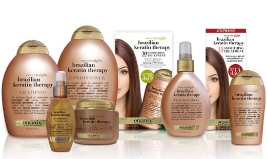 Animal Free Beauty Products: Organix Brazilian Keratin Treatment