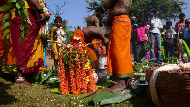 Puja en Kandirapuran 1