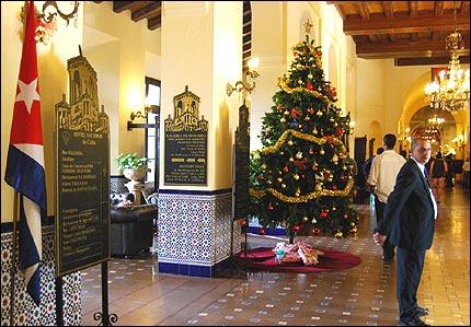la navidad en cuba: