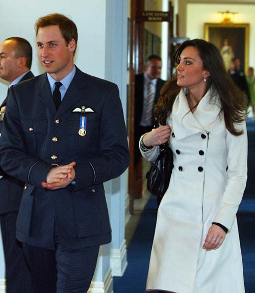 prince william and kate middleton wedding date. Prince William with Kate