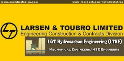 Mechanical Engineers/HSE Engineers Job 2015