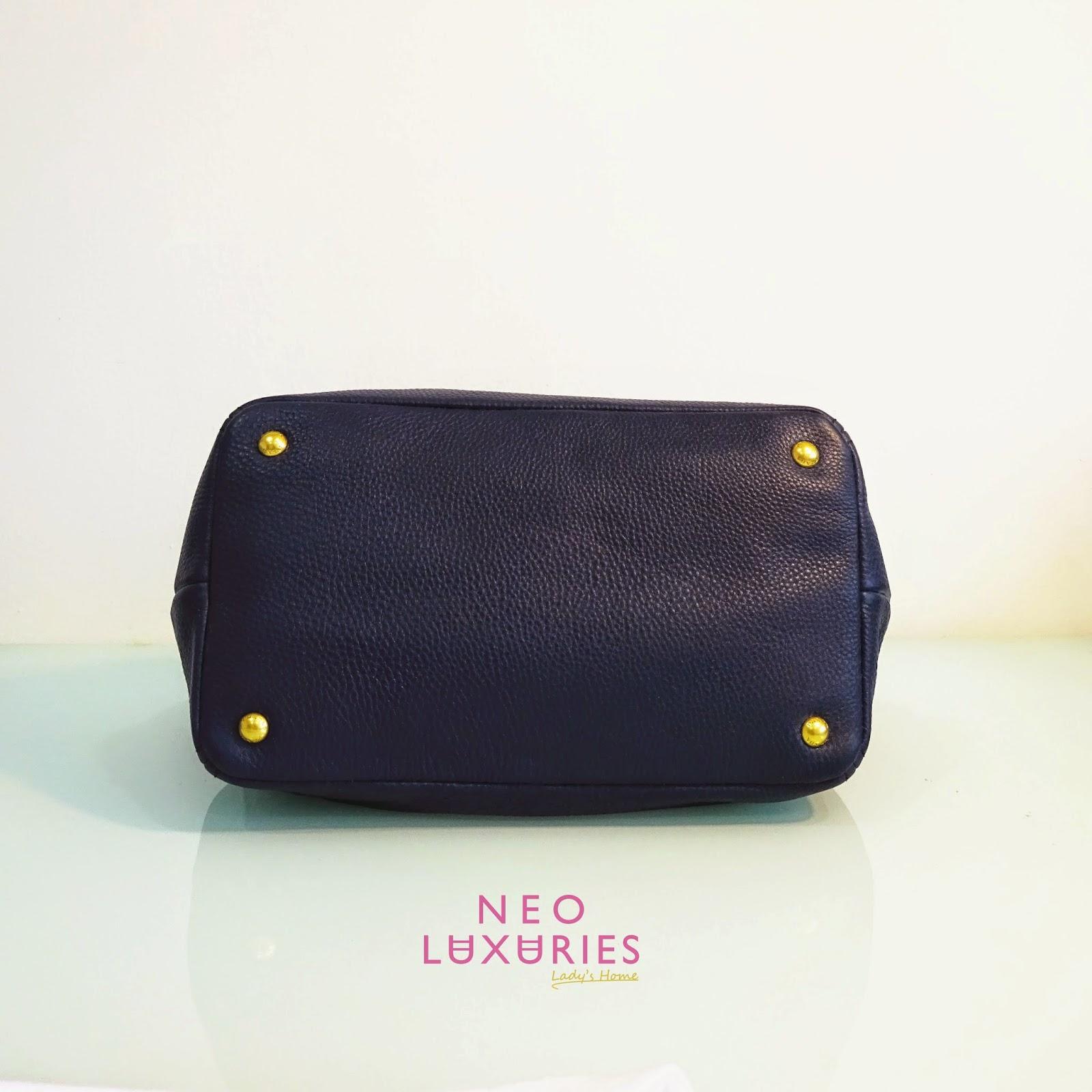 leather prada - Neo LUXuries: SOLD: PRADA Vitello Daino Calf Leather Bag - BN2534