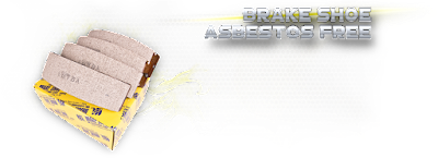 BREAK SHOE ASBESTOS FREE