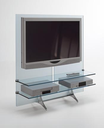 Modern lcd tv glass stand ideas an interior design - Lcd tv cabinet designs ...