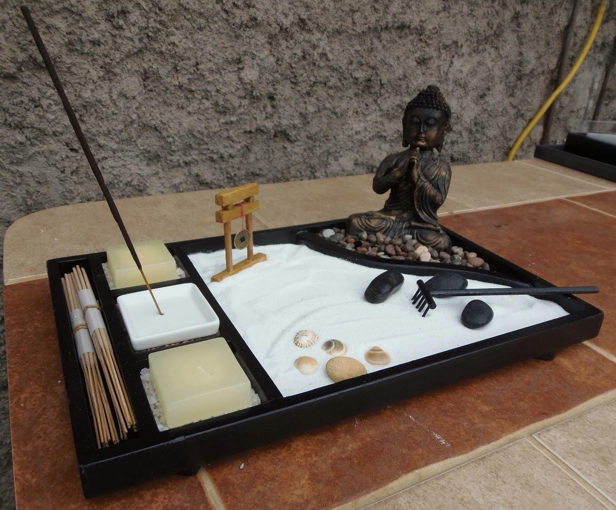 Mi budha crea un peque o jardin zen - Mini jardin zen ...