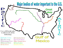Important bodies of Water