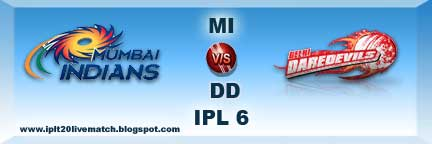 IPL Match 9 Squad Logo and MI vs DD Full Scorecard