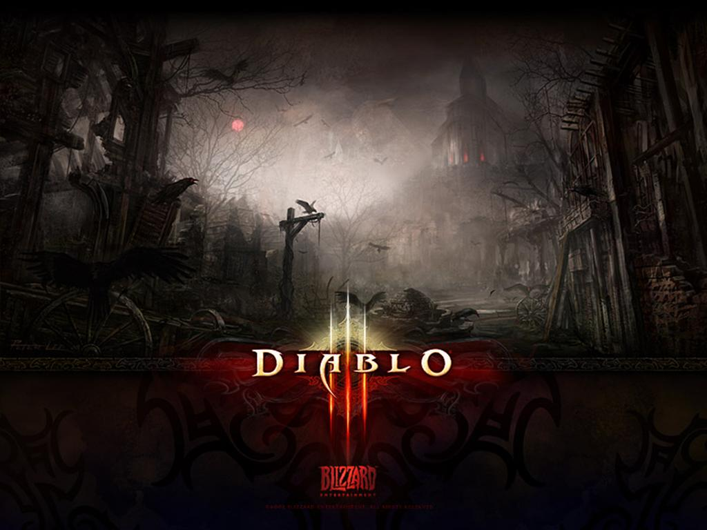 Diablo HD & Widescreen Wallpaper 0.853092980173247