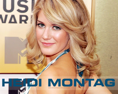 Heidi Montag Hot Wallpaper