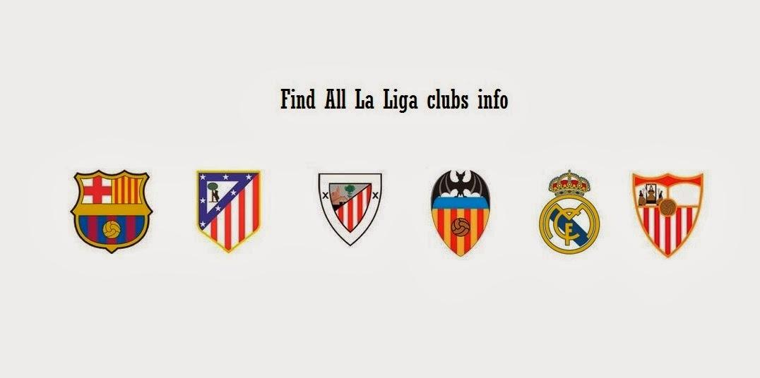 La Liga clubs info
