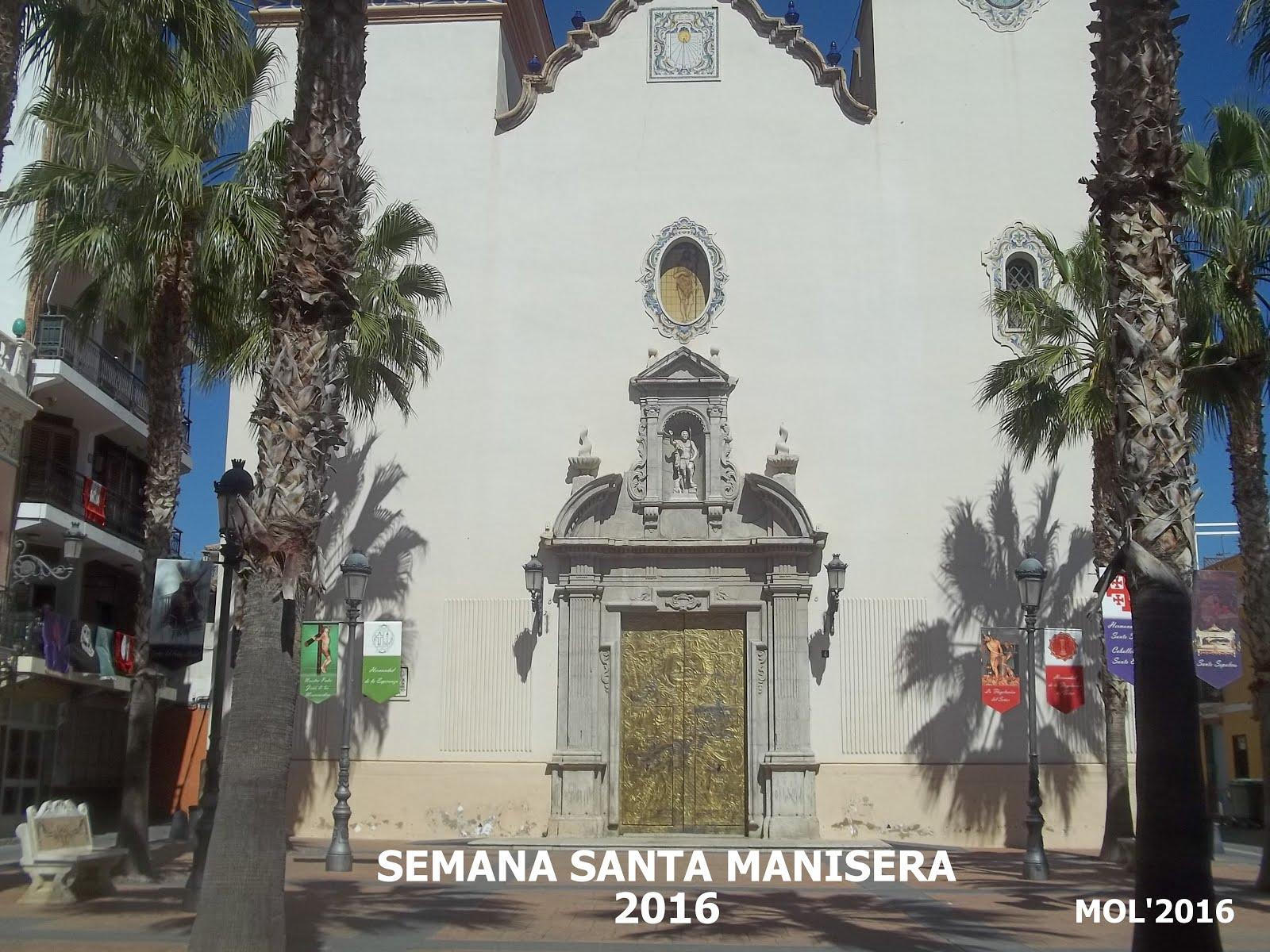 27.03.16 SEMANA SANTA MANISERA, PROCESIONES Y ACTOS CELEBRADOS EN 2016