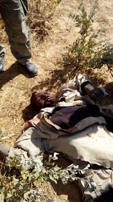 Boko Haram Killed By Nigerian Soldiers During Attack On Yobe Military Base (Very Graphic Photos)