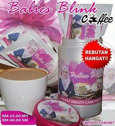 BABIES BLINK COFFEE KULIT CANTIK GEBU