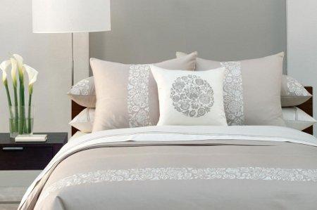Arquitectura en dise o de interiores combinaciones de - Dormitorio gris perla ...