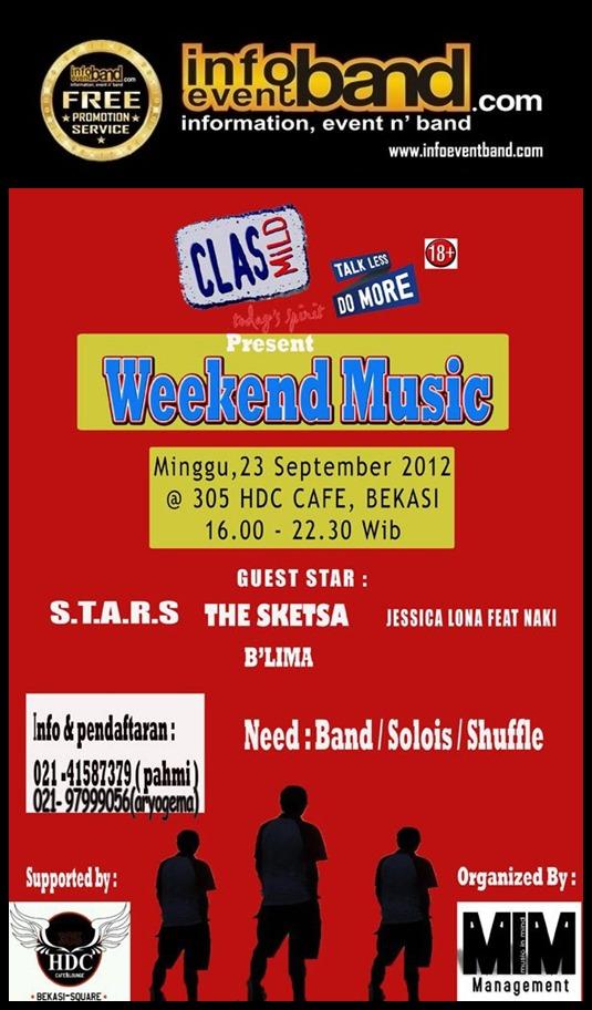 info event band di Bekasi - September - InfoEventBand.com | cari ...