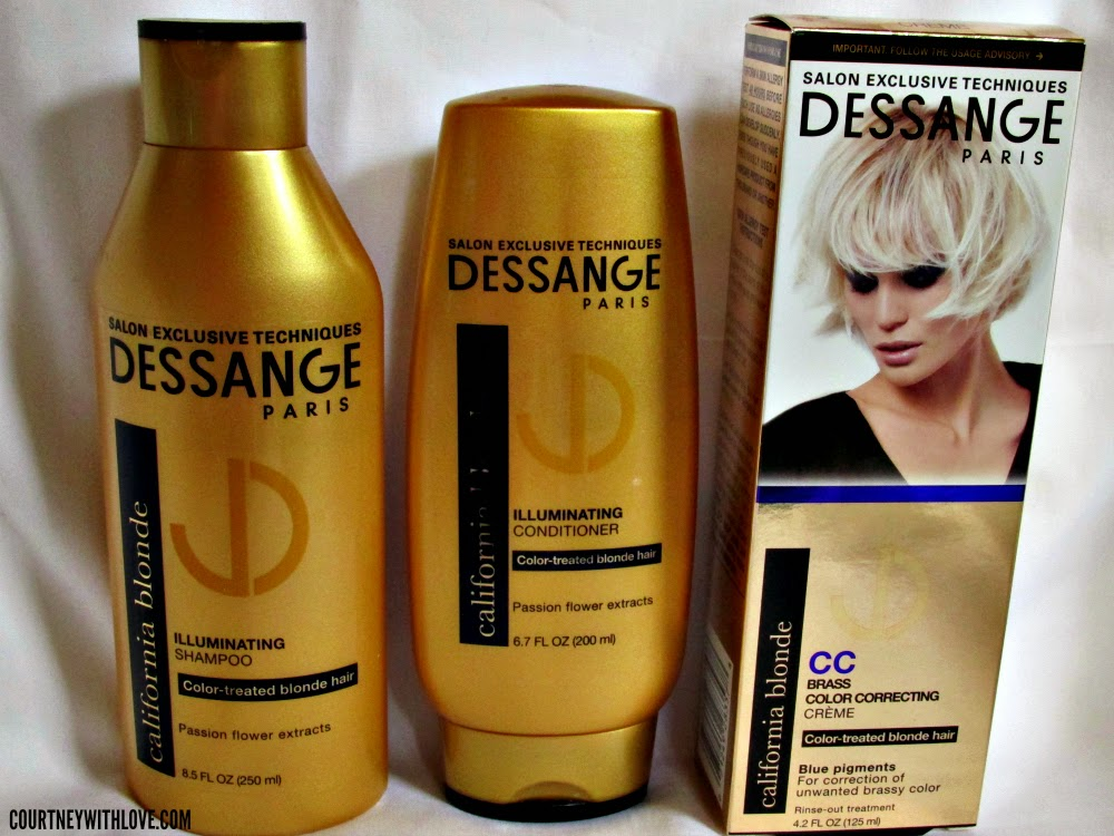 Courtney With Love Dessange Paris California Blonde Shampoo
