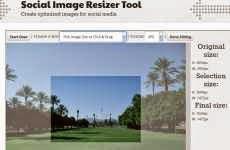 Social Image Resizer Tool: permite crear imágenes optimizadas para subirlas a las redes sociales