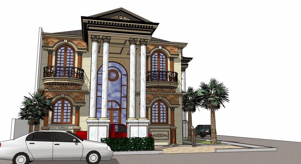 Gambar Rumah Klasik Desain Terbaru 2014