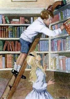 anak-anak mencintai buku