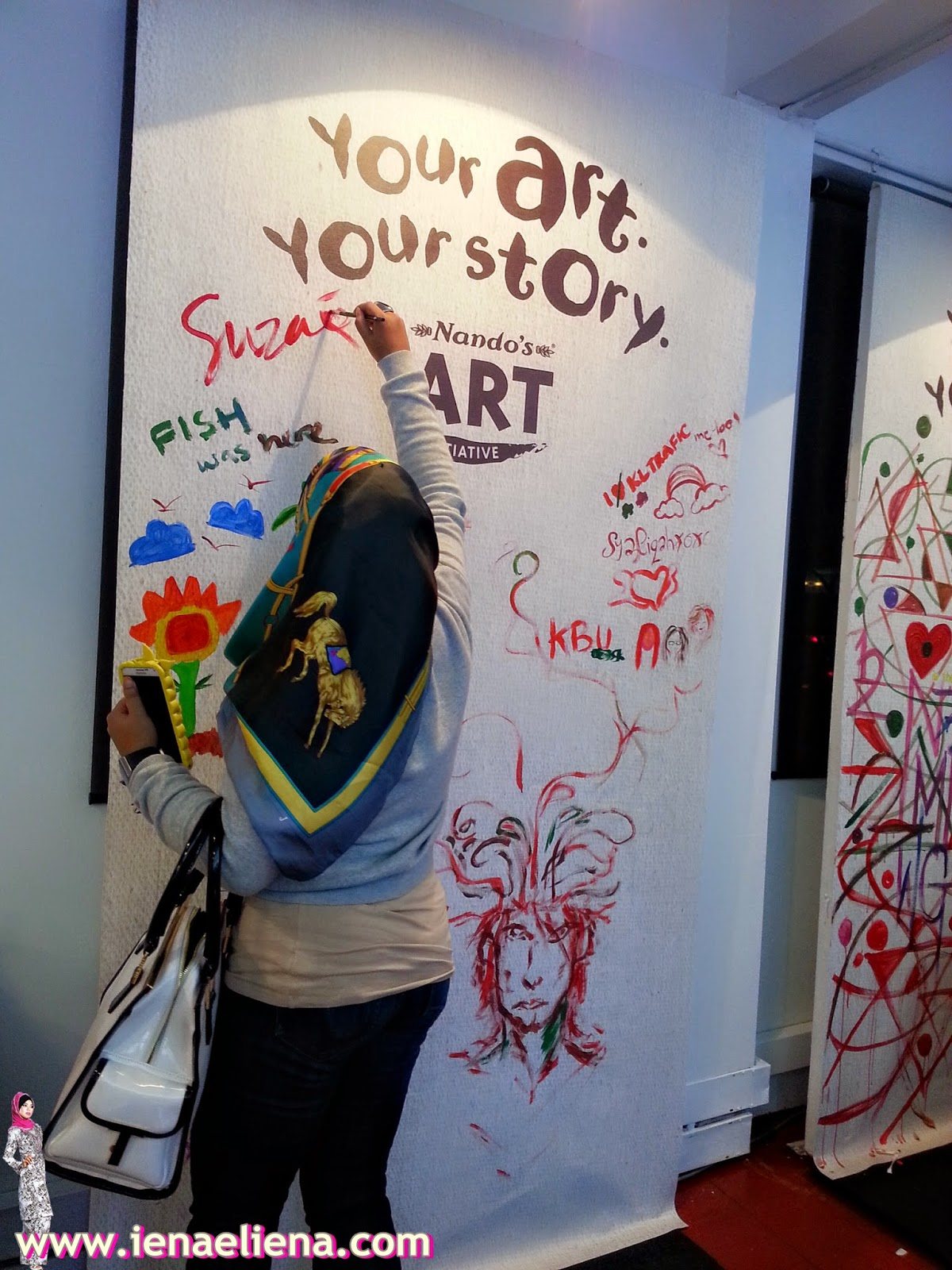 Your Arty Your Story @ Nando's Art Initiative