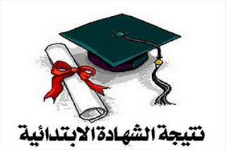 نتيجة الشهادة الابتدائية محافظة الجيزة , الصف السادس الابتدائي التيرم الاول2013