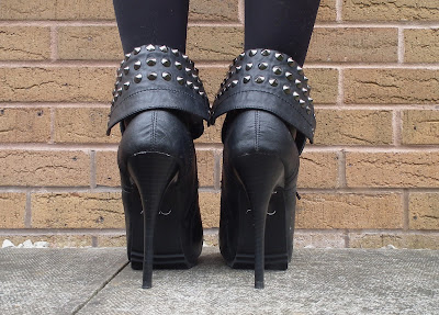 New Look studded boots