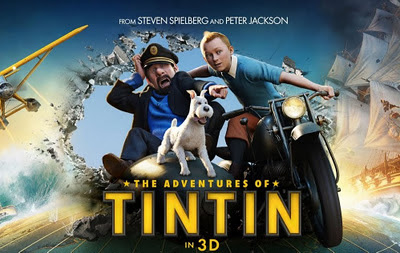 Cartel de la película Tintin y el secreto del unicornio