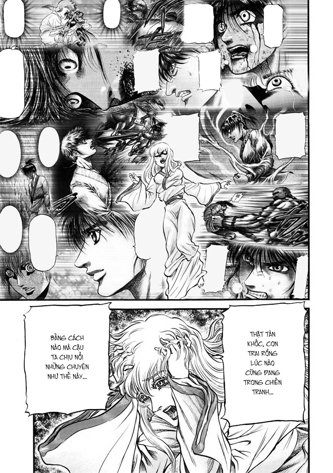 Chú bé rồng-Ryuuroden chap 287 Trang 18 - truyendep.com