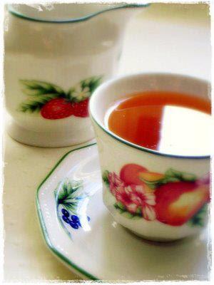 Propiedad del té caliente