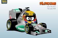 Hamilton Mercedes