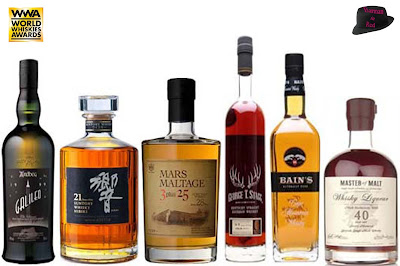 Los mejores whiskys del mundo 2013
