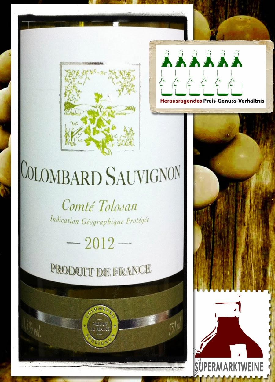 Comté Tolosan Colombard Sauvignon 2012 | Test und Bewertung