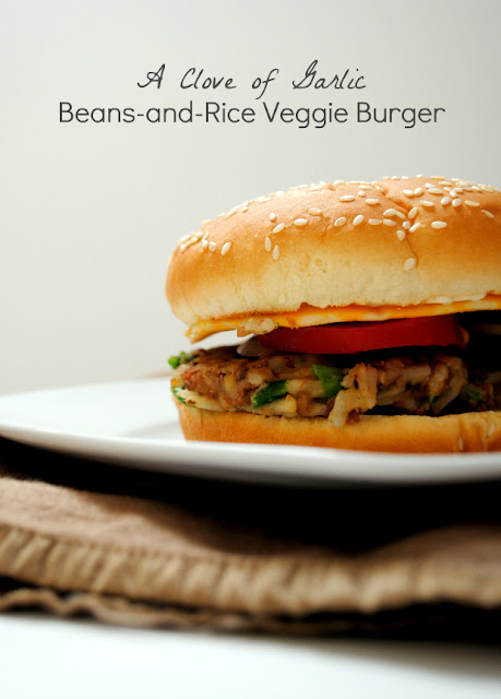 Clove of Garlic, A Pinch of Salt: Beans & Rice Veggie Burgers