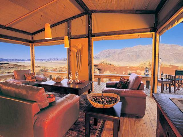Wolwedans Dunes Lodge Hotel in Namibia